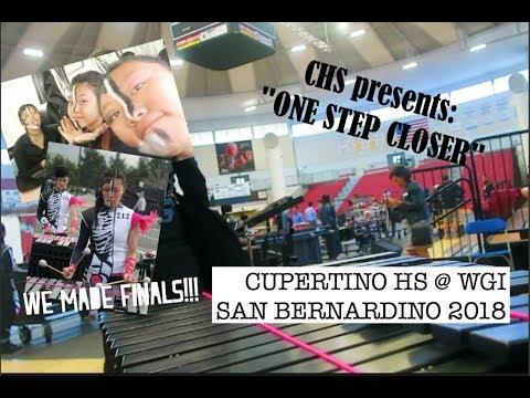 "WGI POWER REGIONALS 2018 : SAN BERNARDINO | Cupertino High School ""One Step Closer"""