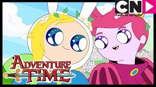 Adventure Time | Fiona and Cake | Cartoon Network