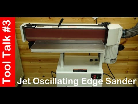 Jet Oscillating Edge Sander 171208