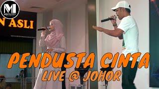 WANI FT WARIS - Pendusta Cinta (Live @ Johor)