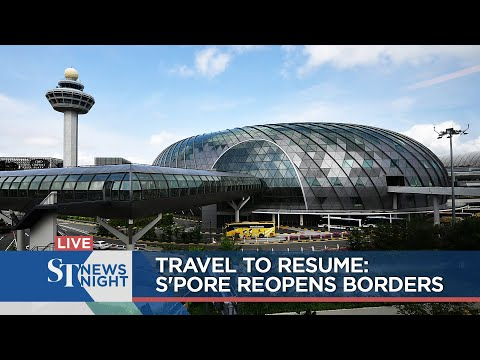 Travel to resume: S'pore reopens borders | ST NEWS NIGHT