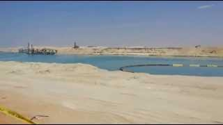 Drilling new Suez Canal March 21, 2015