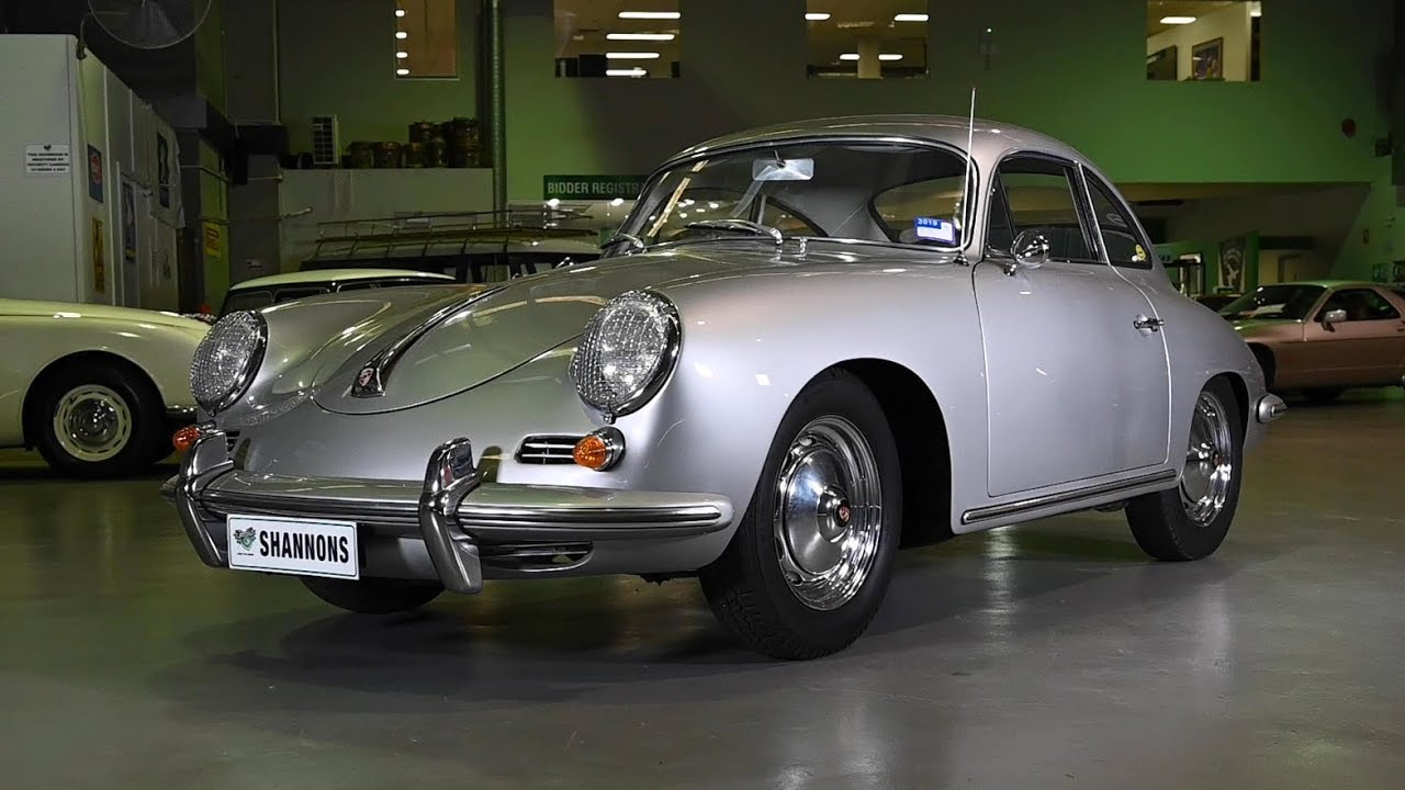 1960 Porsche 356B 1600S Coupe - 2019 Shannons Sydney Autumn Classic Auction