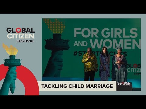 President of Ghana Akufo-Addo Commits to End Child Marriage | Global Citizen Festival NYC 2017