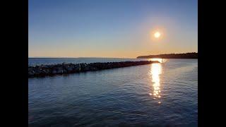 Beautiful Nature Sunset BC canada  힐링 캐나다