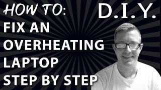 How to Fix an Overheating Laptop - Step by Step Fan Cleaning - HP Pavilion dv6500