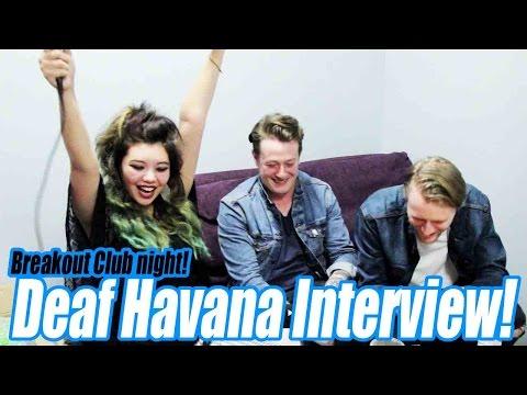 Breakout Club night - Deaf Havana Interview