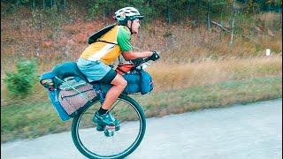 He Unicycled 20,000miles From Alaska To South America // Ep.17 Unicycling Across America
