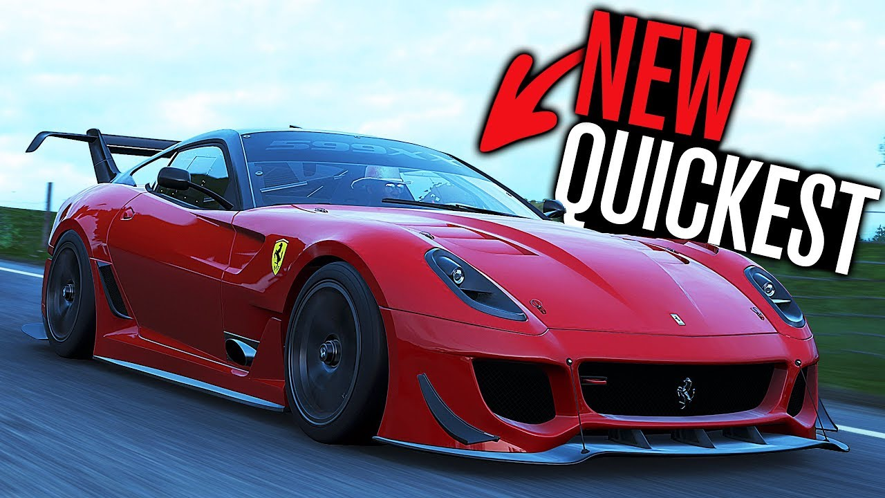 Forza Horizon 4 New Quickest Car Ferrari 599xx Evolution Youtube