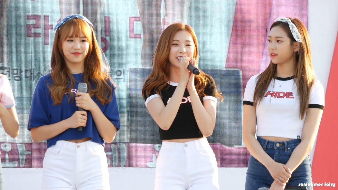 170521 에이프릴(APRIL) Full Live@여의도 한강공원(윤채경 중심)