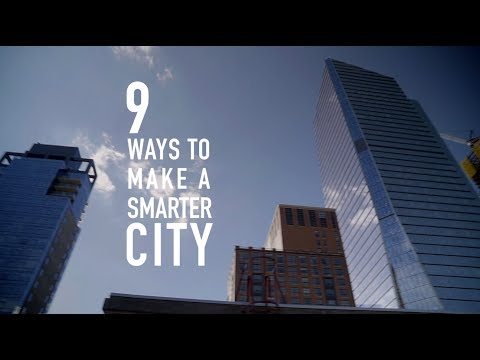 9 Ways To Make Your City Smarter