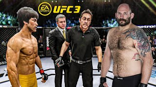 Bruce Lee vs. Tim Johnson [EA Sports UFC 3] - K1 Rules