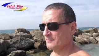 Пляж Нетании - Израиль ноябрь 2016(Пляж Нетании - Израиль ноябрь 2016 видео обзор. Вода супер, +25 градусов. Вот только чуть мешал ветер. Сайт Фонда..., 2016-11-14T16:55:24.000Z)