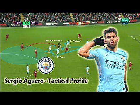 Sergio Aguero - Tactical Profile - Man City's Record Goal Scorer - Player Analysis