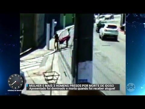 Mulher é acusada de matar dono de imóvel para não pagar aluguel | Primeiro Impacto (15/11/17)