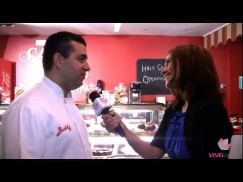 Cake Boss opens cafe at Time Square VIVE Katerin Interviews Buddy Valastro