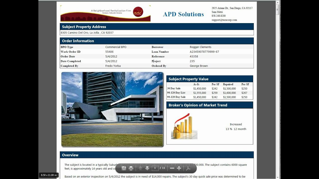 Commercial BPO Forms and Commercial BPO Software - YouTube