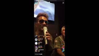 EXILEのボーカルATSUSHIさんがインスタライブで真夏の果実を歌いました...