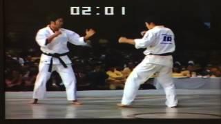極真アーカイブス 第9回 全日本 2回戦 東孝 vs 藤田武夫
