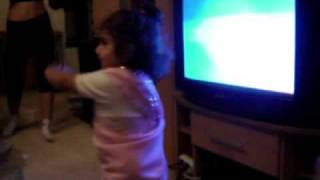 Baby dance to indian music