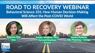 Road to Recovery Webinar: Behavioral Science 101