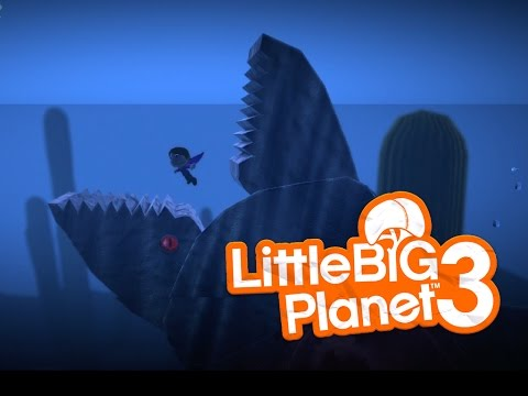 [Little Big Planet 3] GIANT WHALE SURVIVAL LEVEL RETURNS! with HyperSmile