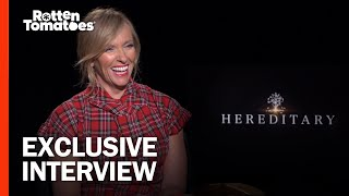 Toni Collette On Why She Signed Up For The Year's Scariest Movie – 'Hereditary' Cast Interview