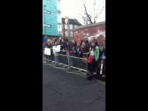 Nottingham Post meet Bieber fans