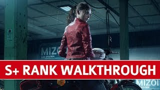 Resident Evil 2 Remake Full Game Walkthrough Speedrun S+ - Standard Difficulty (0 Deaths)