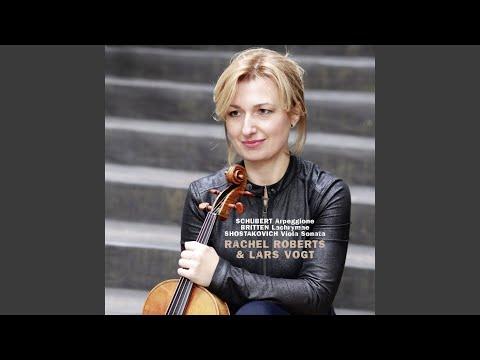 Sonata for Viola and Piano, Op. 147: I. Moderato