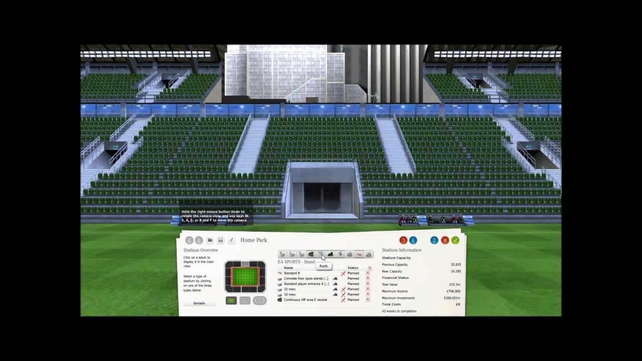 FM Virtual Stadium Tour Lets Build