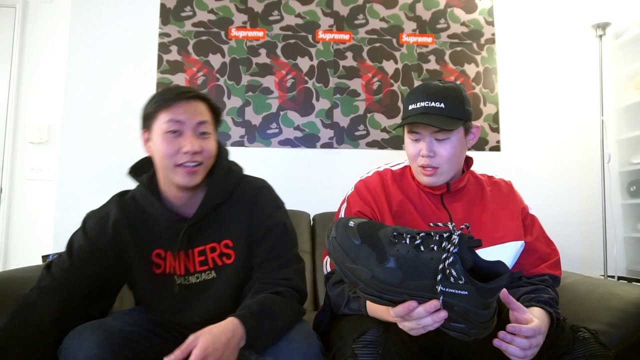 perfectkicks balenciaga triple s Replica Fake Shoes Review
