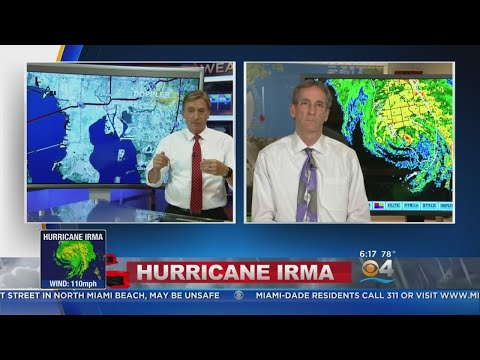 Hurricane Irma Update With Dr. Ed Rappaport From The NHC