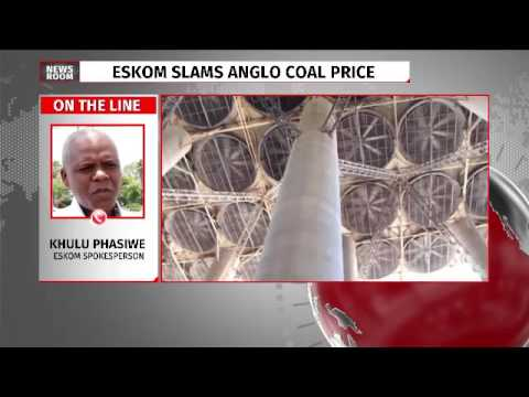 Eskom slams Anglo coal prices