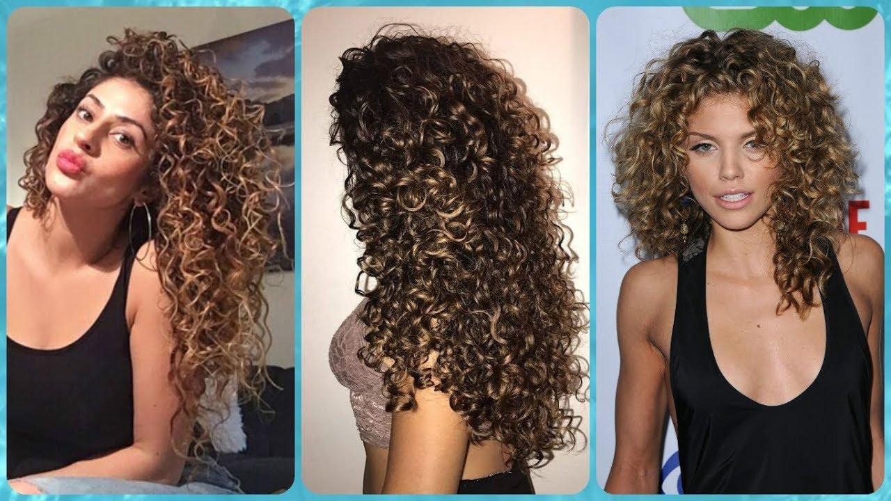 Permanente riccia capelli lunghi