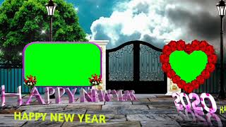 Happy New year Happy New year green screen happy New year green vfx happy New year green ef