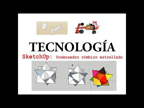 Sketchup, Rhombic Dodecahedron