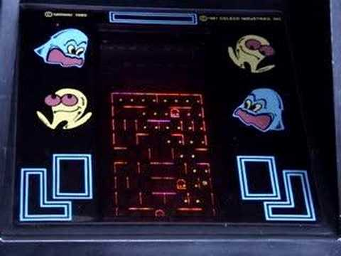 Pacman Tabletop Coleco Game Overview