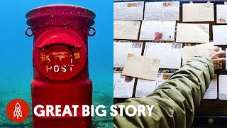 Mailing Letters Under the Sea, to the Highest Post Office in the World