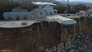 Watch: Pacifica Coastal Erosion 2017 by Drone
