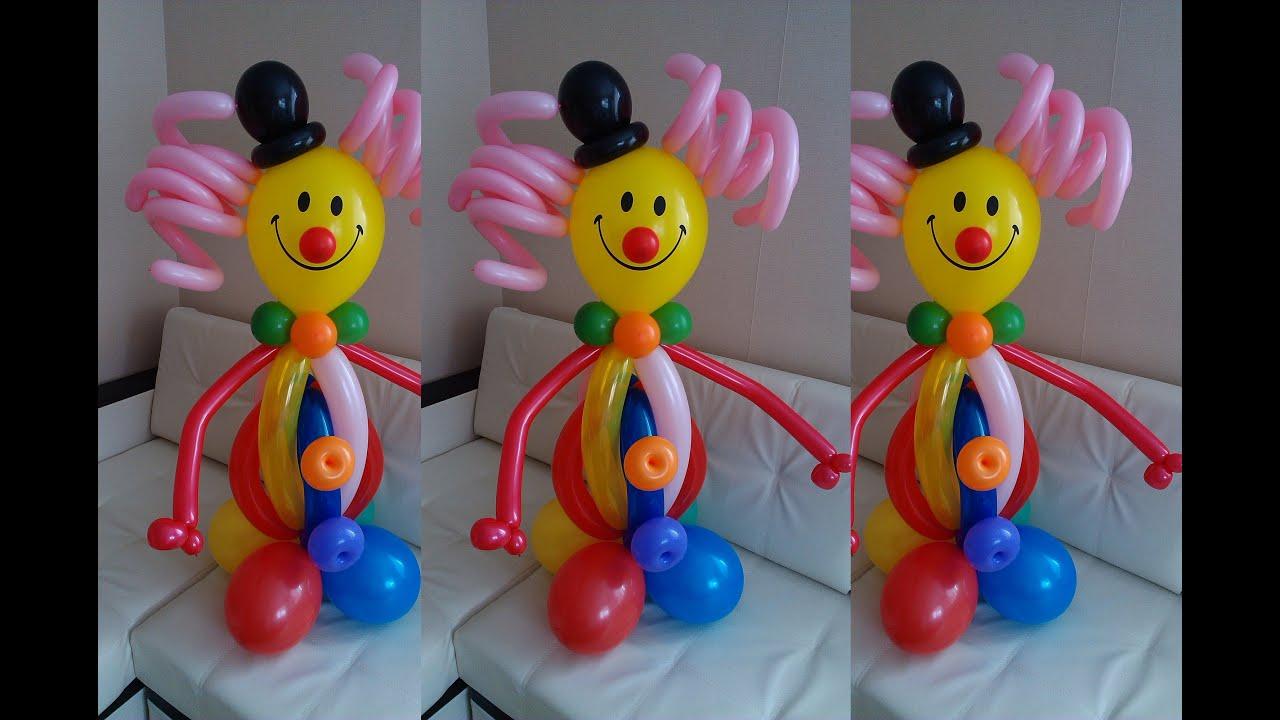 Ребенок из шариков своими руками