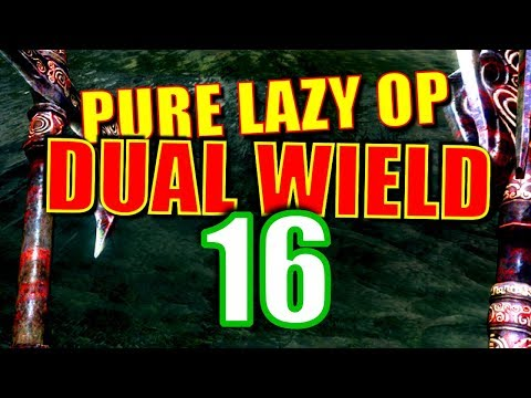 Skyrim Pure Lazy OP Dual Wield Walkthrough Part 16: Deniro for Destruction thumbnail