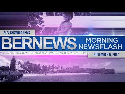 Bernews Morning Newsflash For Monday November 6, 201