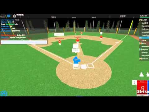 Roblox Baseball in Sports City by Jokes4LIFEx I HIT A GRAND SLAM!!!