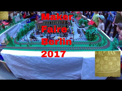 #MFB2017 Makers Faire Berlin 2017. Short live review footage of DIY projects .