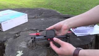 Test du Drone Parrot Bebop par TestLandFrance