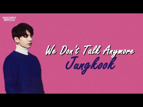 [RUS SUB] Jungkook - We don`t talk anymore Cover
