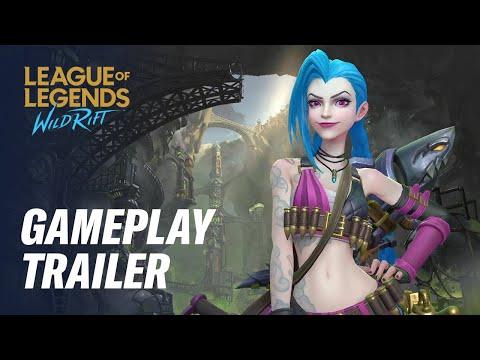 Official Gameplay Trailer   League of Legends: Wild Rift