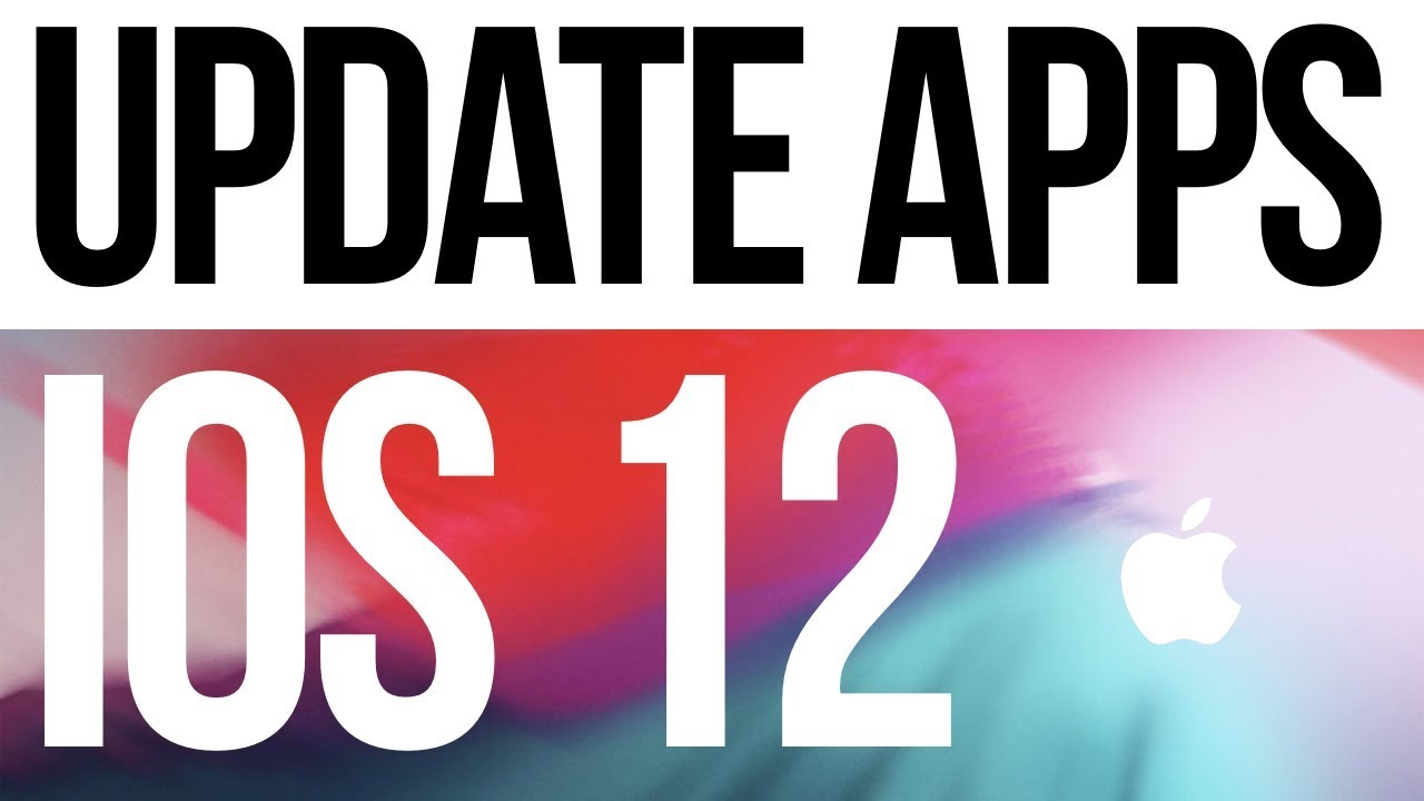 How to Update your Apps on iPhone XS iPhone 8 iPhone 7 iPhone 6 iPhone 5S    iOS 12
