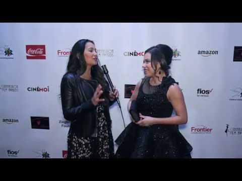 Cinémoi's Oscars After Party Interview w/ Gloria Garayua